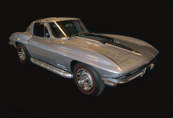 Last 1967 Corvette ever built, 427 with Air, possibly one of the most sought after Corvettes ever. Restored by Naber's Motors, who exclusively use Speed & Sport Chrome Plating.