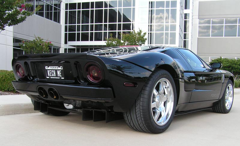 In 2005 they only made 2022 Ford GT's, 237 were painted black, 58 of them were produced without stripes, and only 11 with Cast Wheels. This is a Very RARE Car. Speed & Sport Chrome Plating polished the wheels.