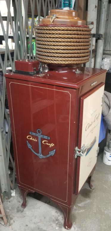 Chris Craft Frost Free Refrigerator for sale side view