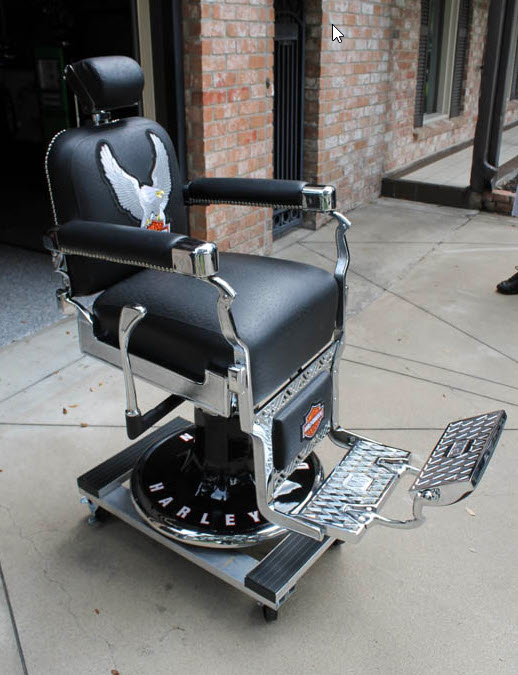 Barber Chair Koken Restored