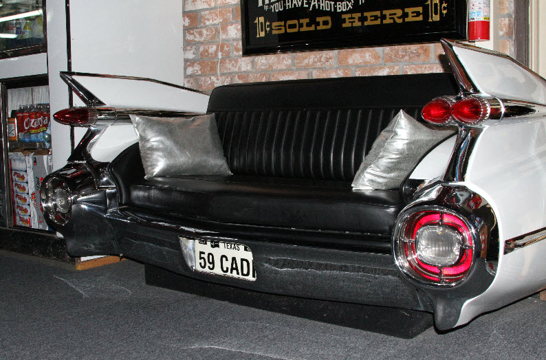 1959 Cadillac Chrome Couch