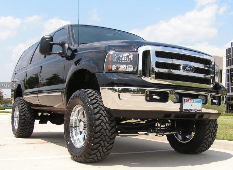 Bumper and Lift Kit we Chrome Plated on a truck