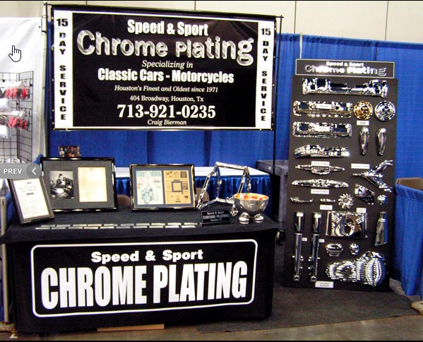 We had a booth at the Corvette Expo in Houston Texas Feb 12,13, 2011