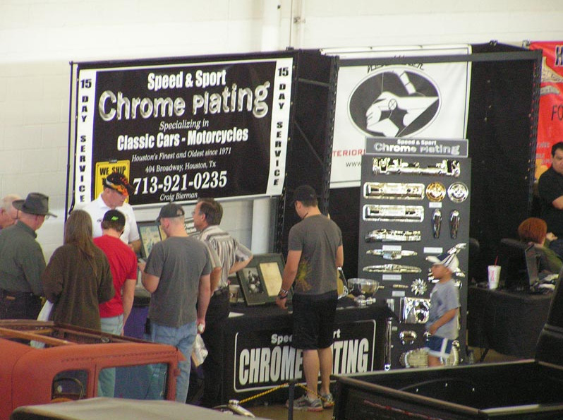 We had a booth at the Dallas Auto Rama Feb 18,19,20, 2011