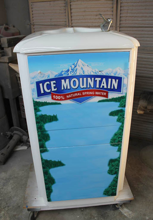 Drinking Fountain Fridge Freezer