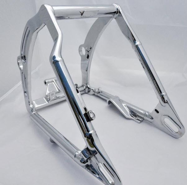 Soft tail swing arm Harley Davidson chrome part