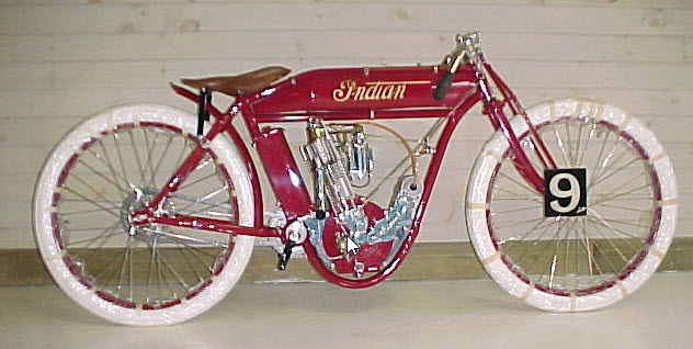 Indian bicycle chrome