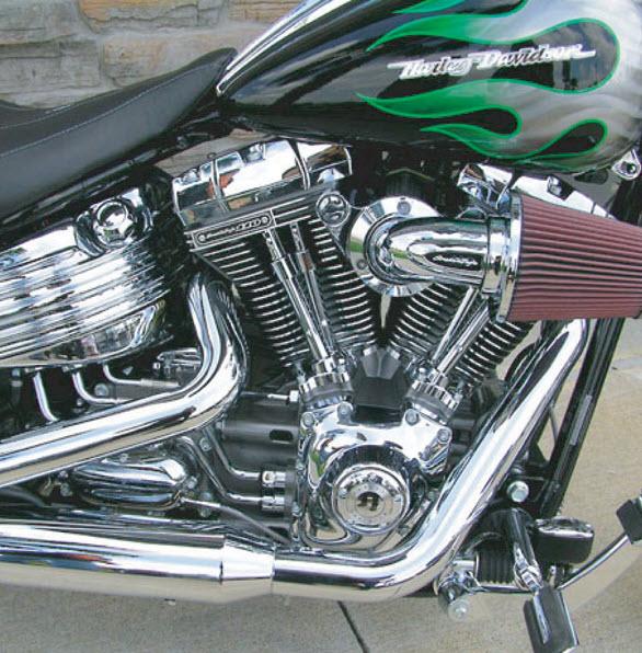 Motorcycle chrome job