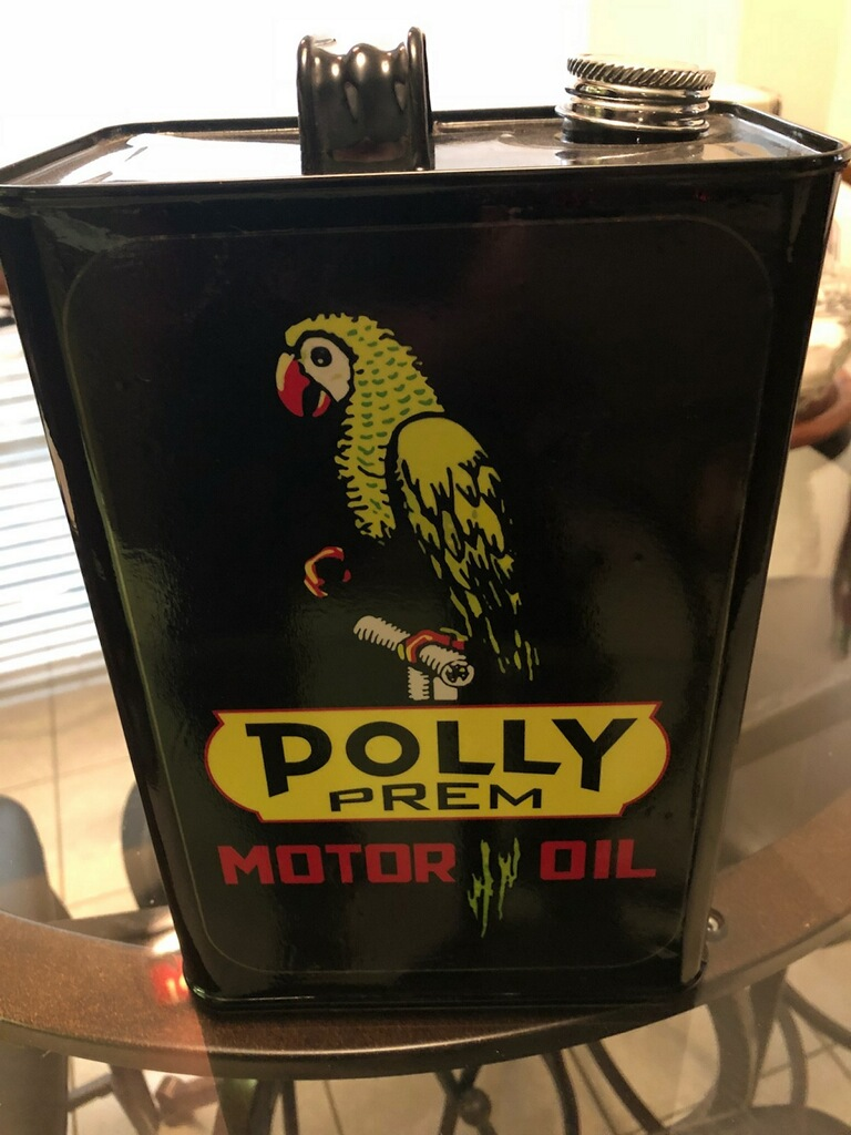 Polly Motor Oil Can for Sale