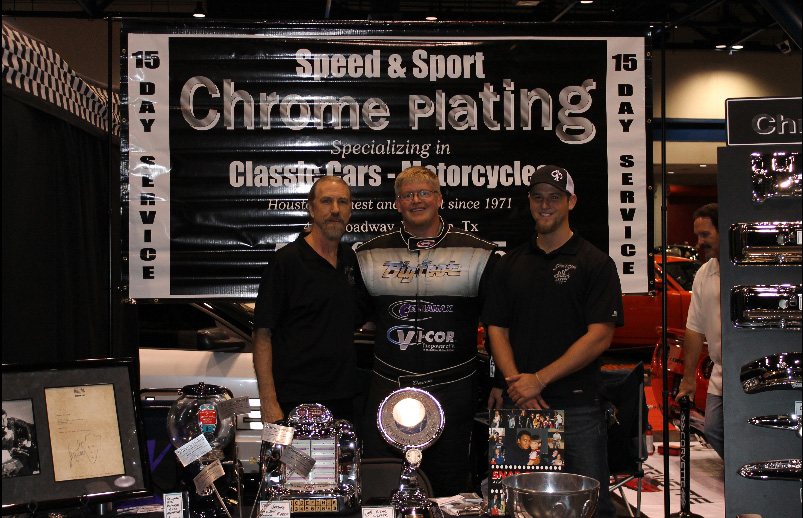 Speed and Sport Chrome Plating booth