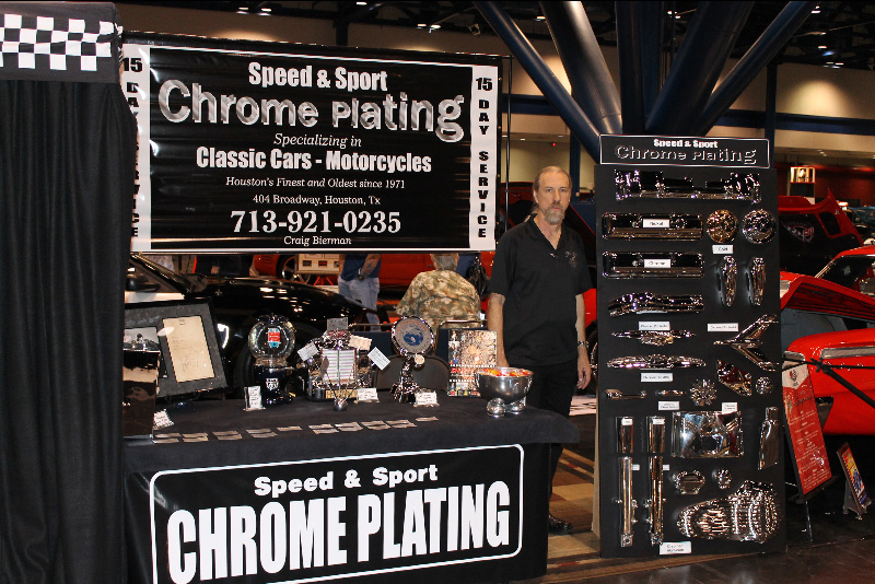 Speed and Sport Chrome Plating booth - Houston TX