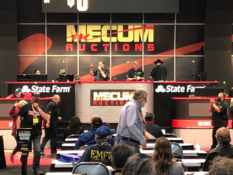 Mecum Booth December 2020