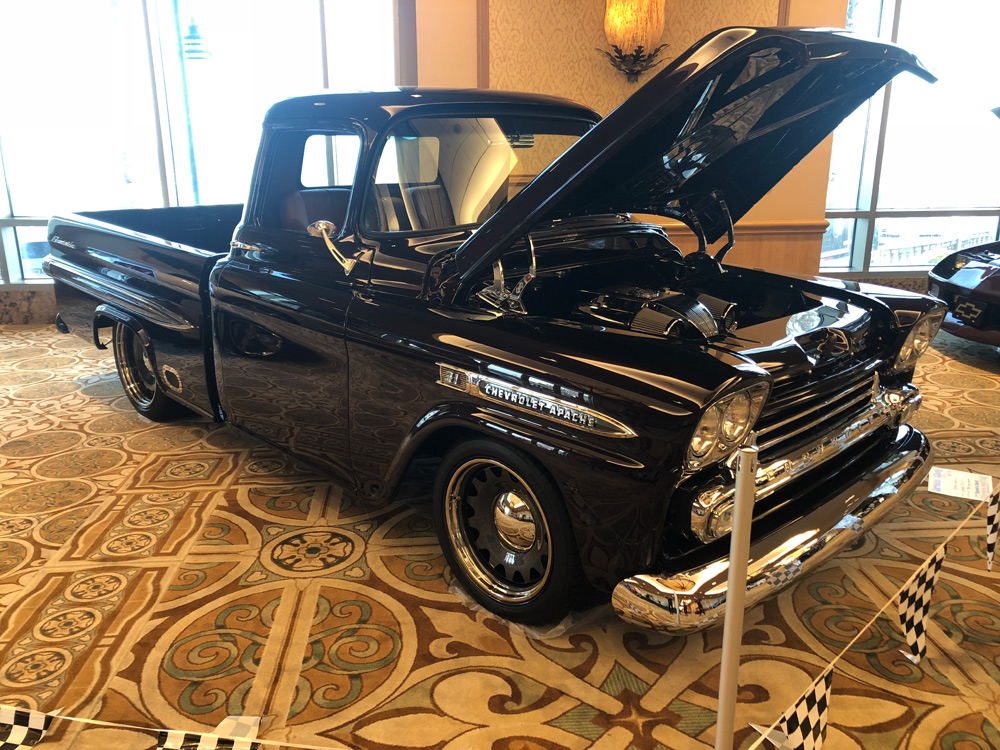This is owned by Steve Guerin 1959 Chevy Apache