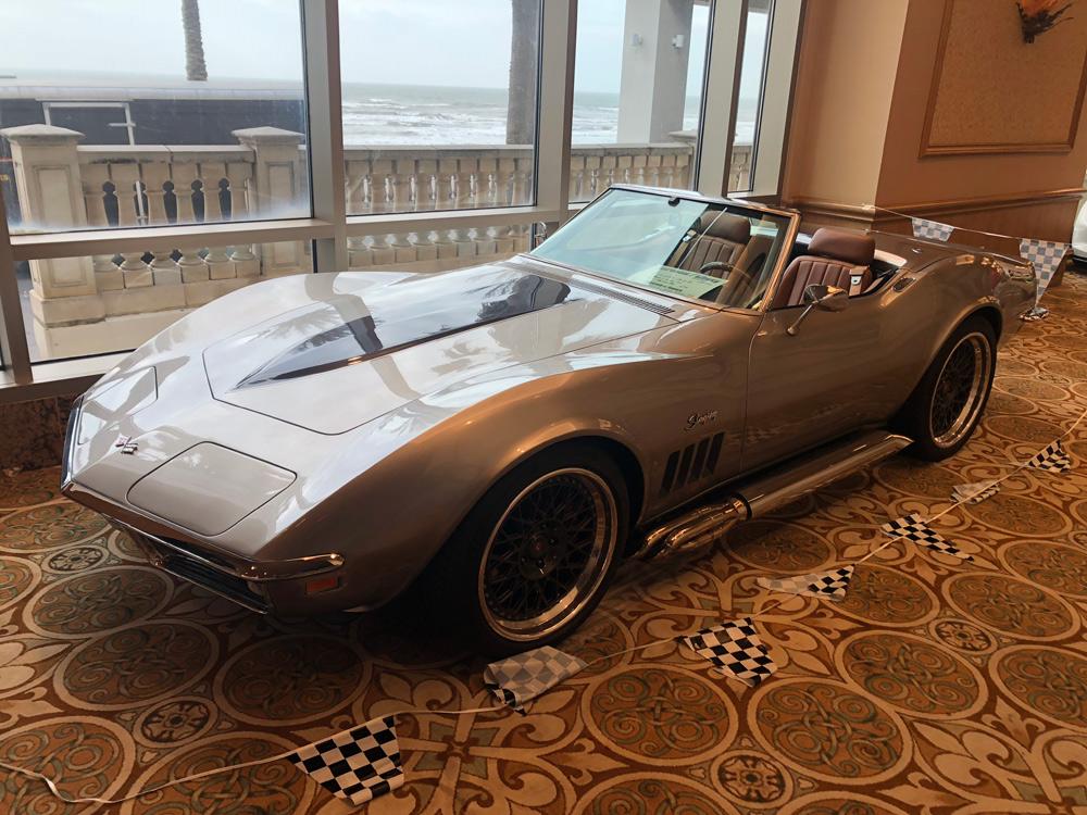 Owner Scott Arnold 1969 Corvette