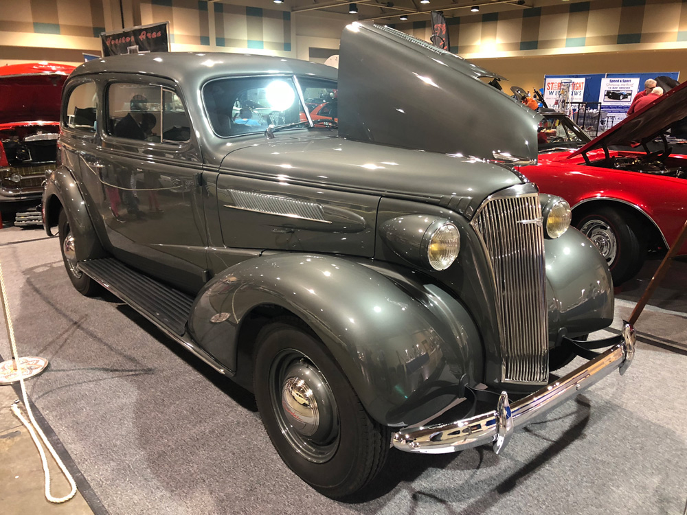 Owner Jim Perry 1937 Chevy
